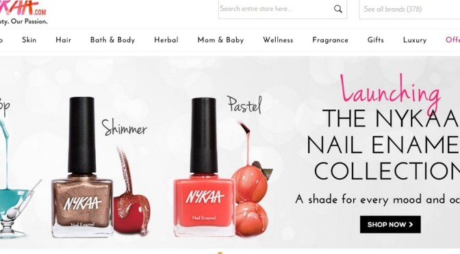 Online Shopping Experience with Nykaa.com