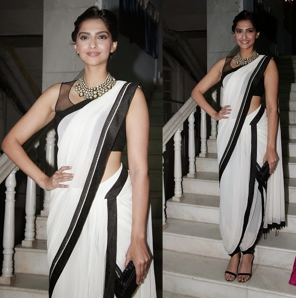 Celebs in Bollywood Designers Sarees 2014 (11)