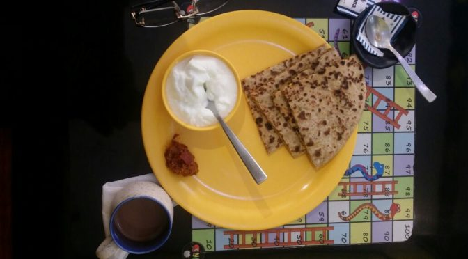 stuffed parantha diet n delicacy