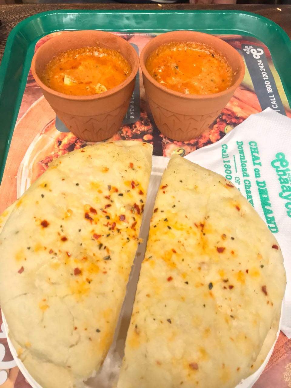 kulhad butter chicken chaayos